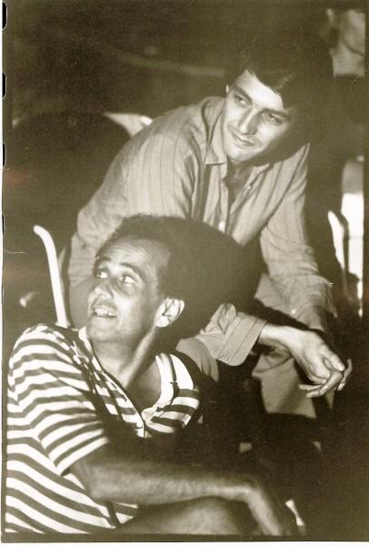 michael wager et dominique losay, roxbury, 1978