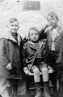 Georges, André et René Losay, Fécamp
